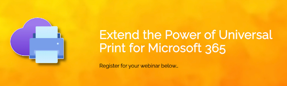 PriApps Integration to Universal Print by Microsoft webinar