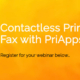 PriApps Touch-Free Contactless Print Copy Scan & Fax webinar